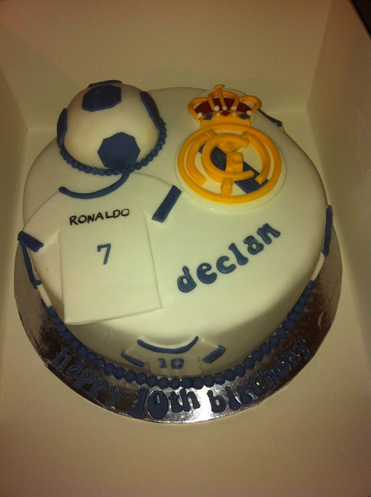 Cake Images Real : 17 best images about Real Madrid cakes on Pinterest Real ...