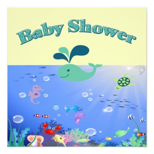 415 best adventure baby shower invitations images on pinterest underwater adventure baby shower boy or girl card stopboris Image collections