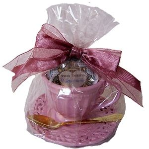 Tea party bridal shower prize idea. Goes along with alice in wonderland idea