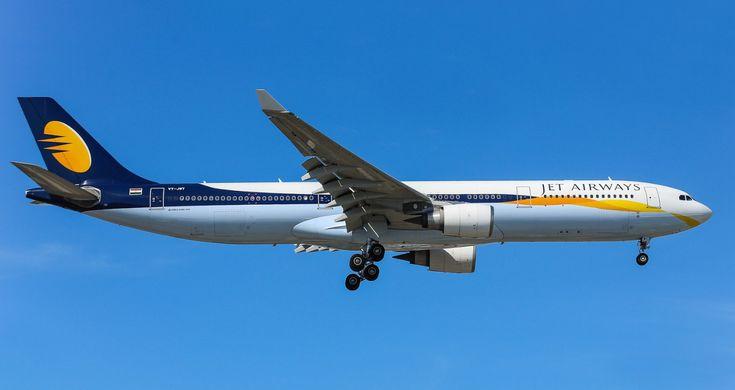 Airbus A330-300 VT-JWT авиакомпании Jet Airways