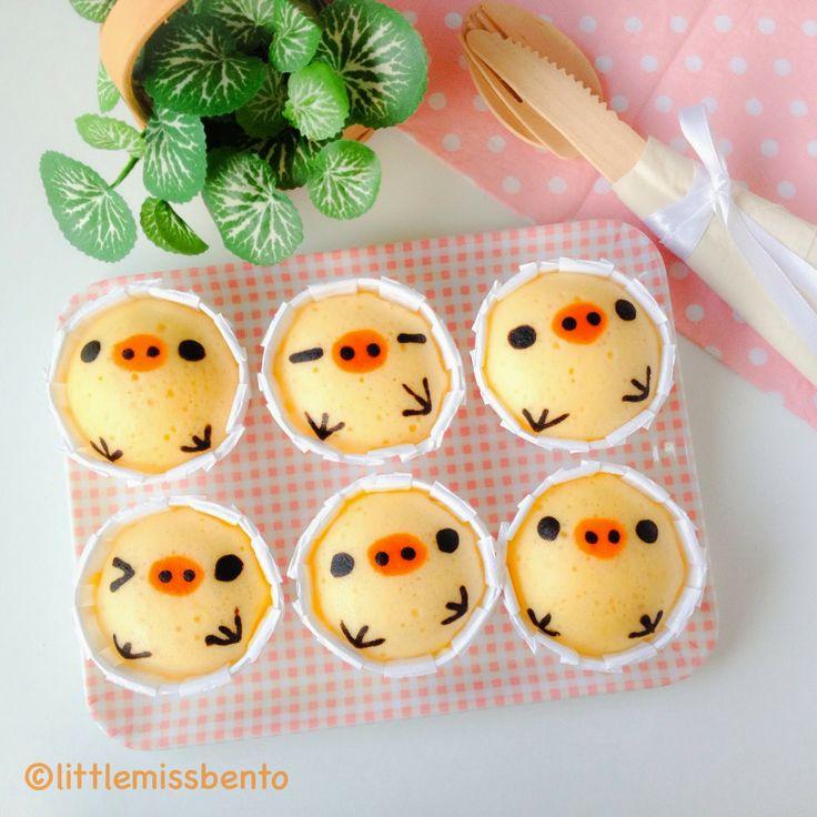 Kiioritori Japanese Steam Cakes (Mushi-pan) - Little Miss Bento