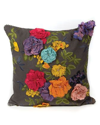 Covent+Garden+Floral+Pillow+by+MacKenzie-Childs+at+Horchow.