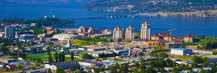 Nice shot of Kelowna from Knox