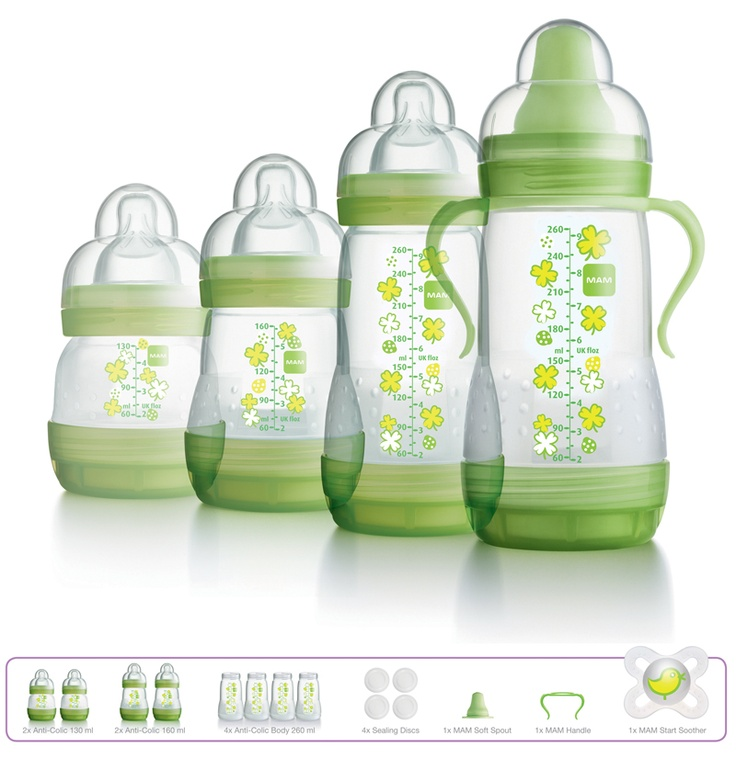 #MAM Anti Colic #Bottle Starter Set available online at http://www.babycity.co.uk/
