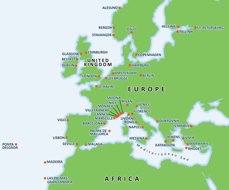 Europe Cruises | Mediterranean Cruises | Carnival Cruise Lines
