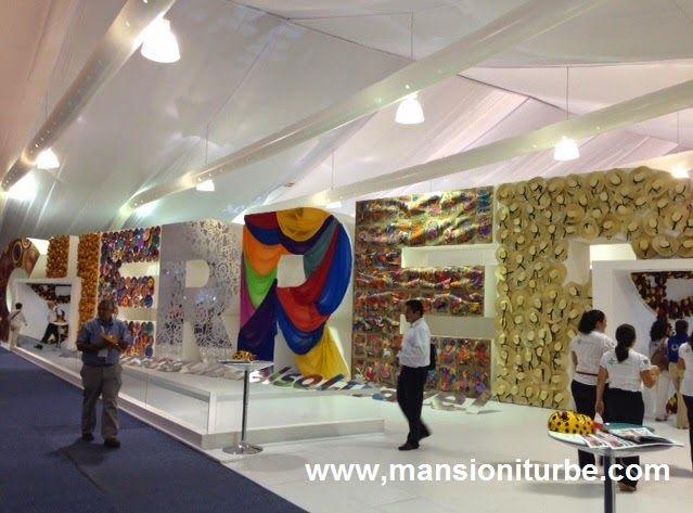 Stand del Estado de Guerrero en el Tianguis Turístico de México 2014 en Cancun
