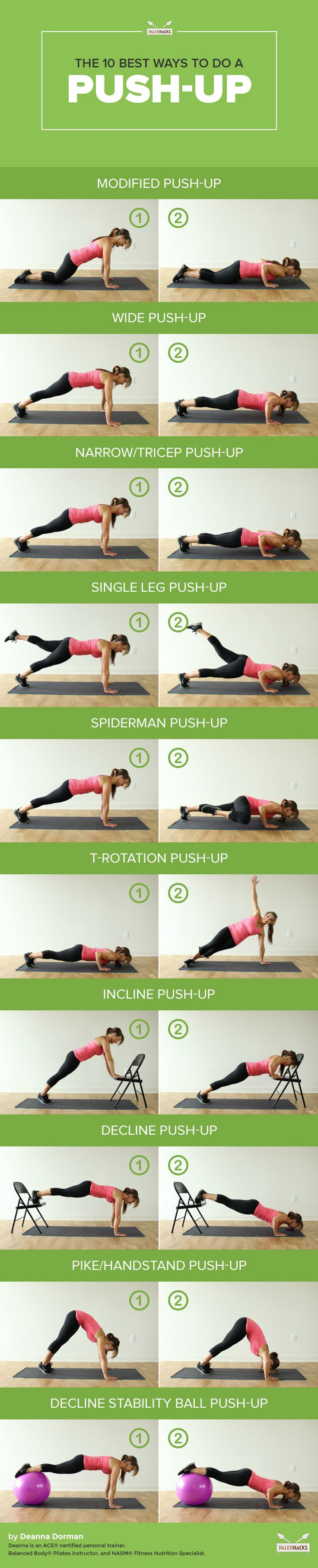 The 10 Best Ways To Do a Push-Up