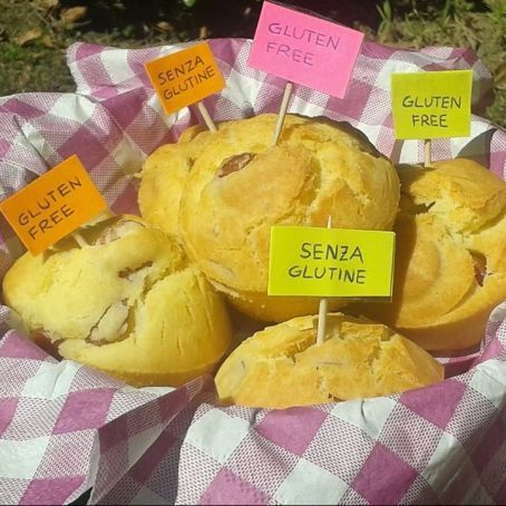 Muffin salati senza glutine