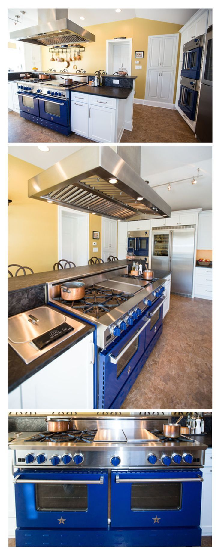 This Customer Designed Her Entire Kitchen Around Her BlueStar Range! Click  To Discover Your Dream Part 40
