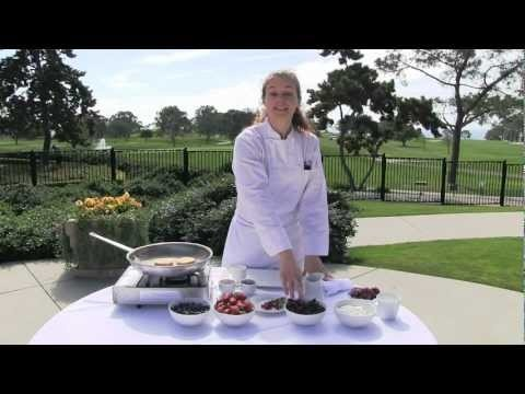 Jennifer Costa makes Tea and Crumpets - A.R. Valentien at Lodge at Torrey Pines