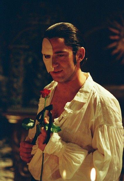 Gerard Butler as Erik, better known as the Phantom of the Opera