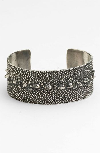 Tom Binns Stingray Embossed Cuff available at #Nordstrom