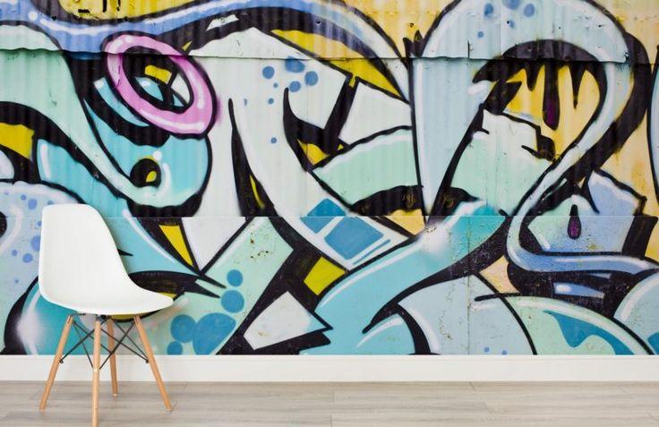 art-metal-graffiti-room
