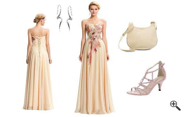 Kleider für Trauzeugin wie Doro.. http://www.fancybeast.de/kleider-trauzeugin-lang-pink-hochzeitsoutfit-fuer-gaeste/ #Trauzeugin #Pink #Hochzeitsoutfit #Abendkleider #Kleider #Dress #Outfit #Hochzeit Hochzeitsoutfit für Gäste Kleider Trauzeugin Lang Pink