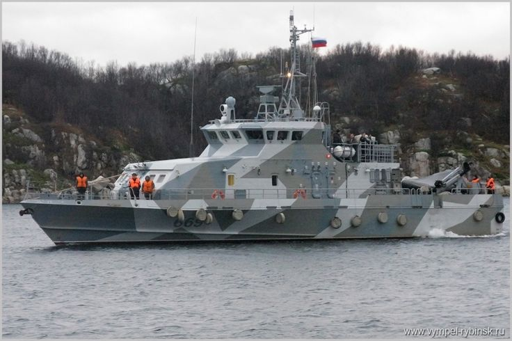 "November 23, 2016 JSC ""Shipbuilding plant"" Vympel ""(Rybinsk, Yaroslavl region), in Northern Fleet in Gadzhiyevo State Commission signed an adoptive act on 2 counter-sabotage boat project 21980 ("" Rook ""code) with serials 01221 and 01222 (on-board numbers ""669"" and ""699""). 1st 2 boats of 21980 project commissioned by Russian Navy.Transferred to Northern Fleet of the Russian Navy."