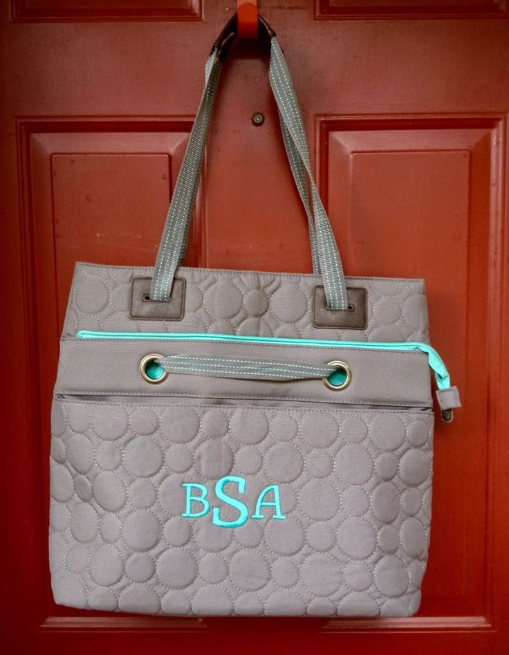 Thirty-One Vary You Versatile Bag Grey Quilted Dots NEW #ThirtyOne #TotesShoppers
