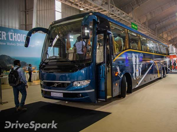 Busworld India 2016 Volvo Launches New Range Of Intercity Coaches