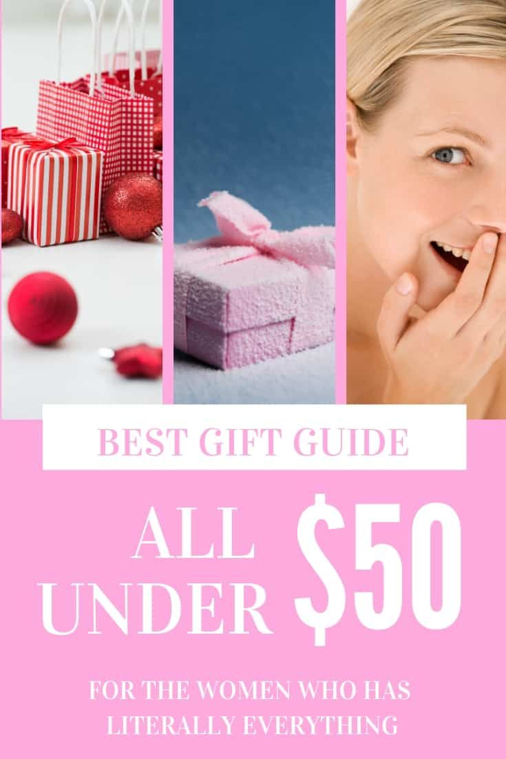 25 gift ideas for the woman who has everything under 50