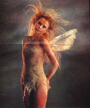 """A fairy's heart runs wild and free"" -Oona (Annabele Lanyon), in the movie Legend."