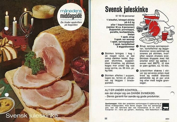 svensk juleskinke