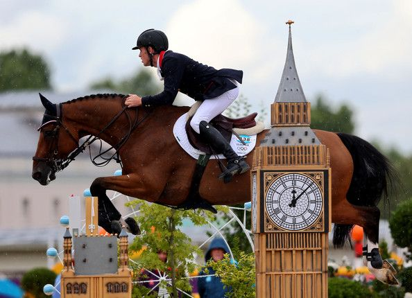 I love watching show jumping. When I watch the Olympics my stomach goes to my throat when they go over the big jumps.