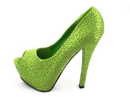 Pantofi eleganti dama,cu tocinalt si strassuri..  Material exterior:inlocuitor piele.  Material interior: inlocuitor piele.