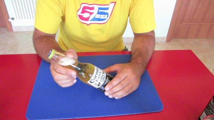 Magia birra ghiacciata trucchi bar bet giochi di prestigio tutorial Cond...