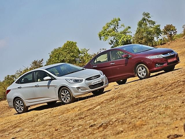 Slideshow : Honda City diesel vs Hyundai Verna diesel - New Honda City diesel vs Hyundai Verna diesel: Comparison | The Economic Times