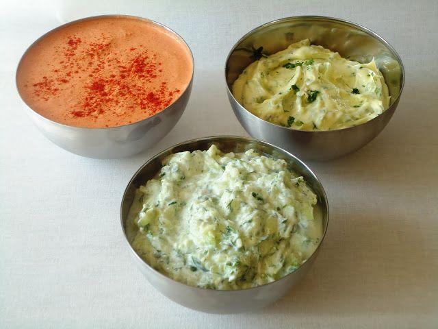 Lekkere dips voor op brood - Uit Paulines Keuken