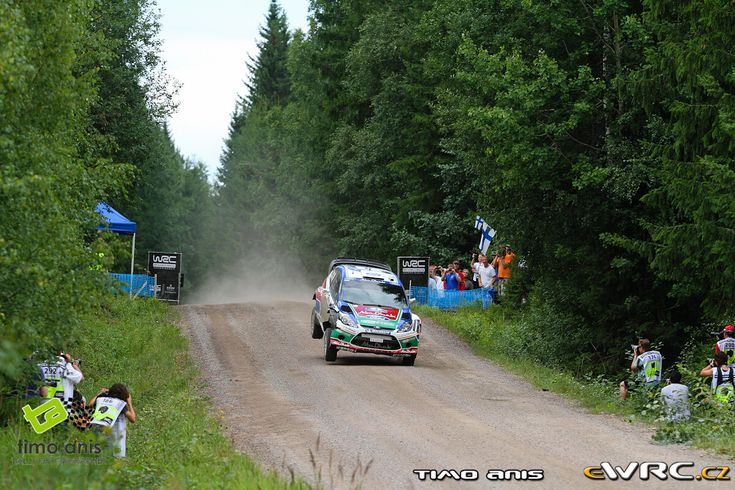 2011 Finland: Jari-Matti Latvala, Ford Fiesta RS WRC, 2nd