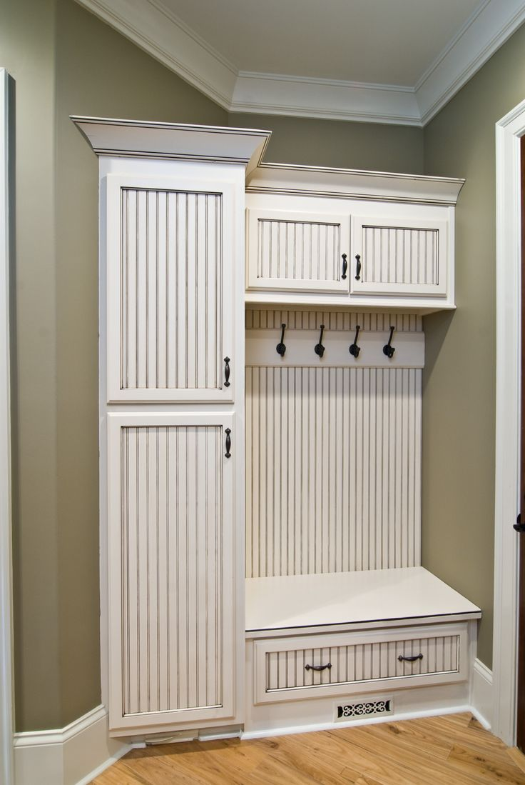 Foyer Built In Cabinets : Great back door entryway idea decor and design