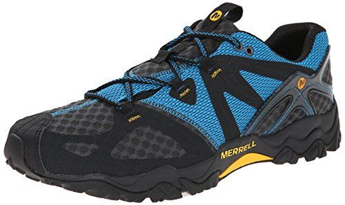 Merrell Mens Grassbow Air Trail Running Shoe -- More info could be found at the image url. (This is an Amazon affiliate link)