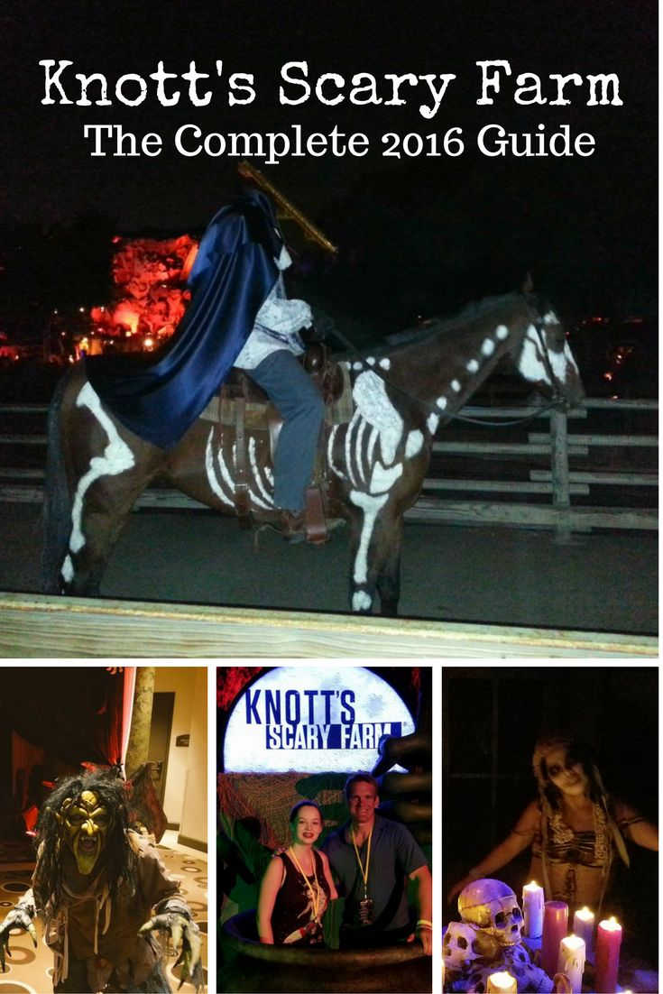 is knott's scary farm better than halloween horror nights