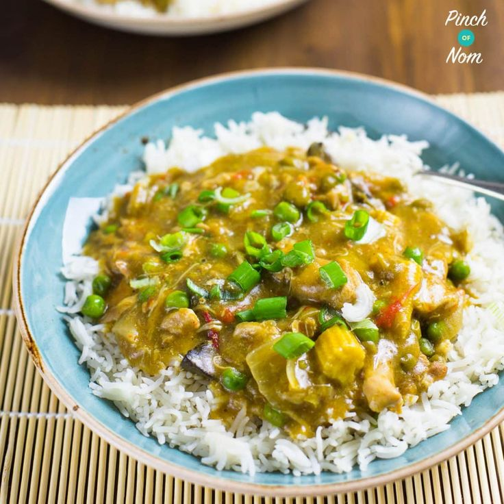 Low Syn Chinese Chicken Curry Slimming World Culinary