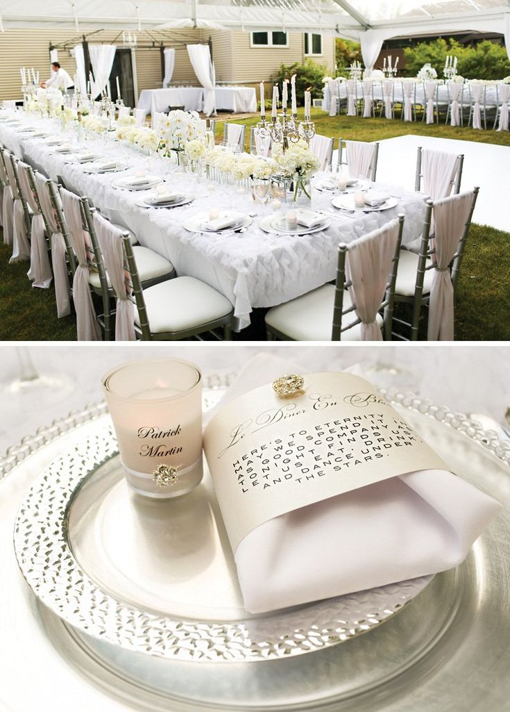 8 best images about birthday party ideas on pinterest for All white party decoration