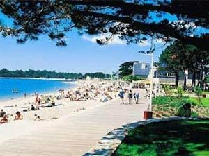 to rent in Benodet, Brittany, France - La Mer Blanche Campsite - Photo Album