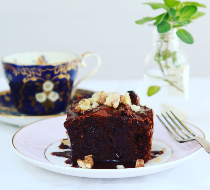 Delicious, moist and healthy Sweet Potato Chocolate Brownie. Gluten and sugar free.