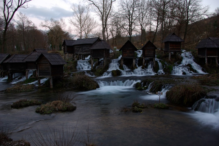 Beautiful: Panoramic View, Favorite Places, Water Mills, Mills Jajce April, Jajce April 29, Outdoor Projects