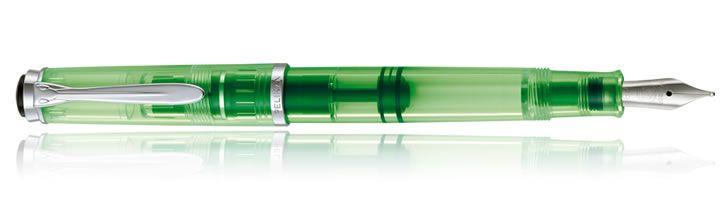 Pelikan Classic Highlighter Fountain Pens - Shiny Green
