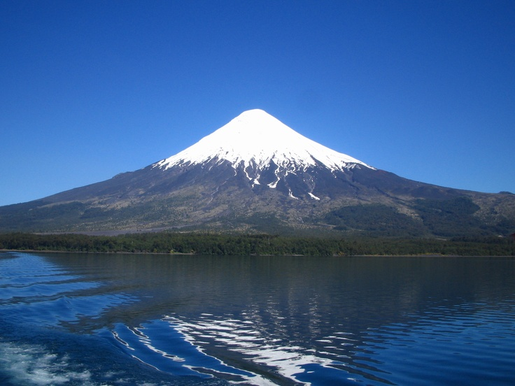 Volcano Osorno / Chile.  Been here!! Want to go again!