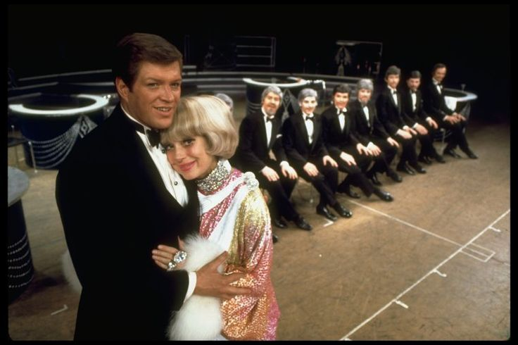 Peter Palmer and Carol Channing in the Broadway musical Lorelei.