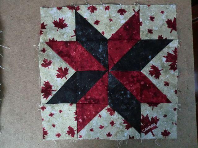 My quilt of valour block 15