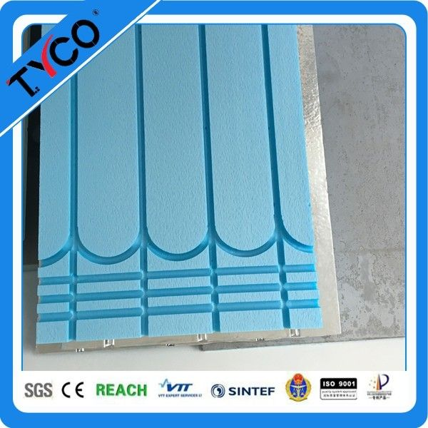 Heating Floor System XPS Insulation Board Parts for PEX Pipe