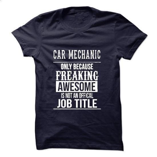 Car Mechanic T-Shirt - #sweatshirt storage #brown sweater. BUY NOW => https://www.sunfrog.com/No-Category/Car-Mechanic-T-Shirt.html?68278