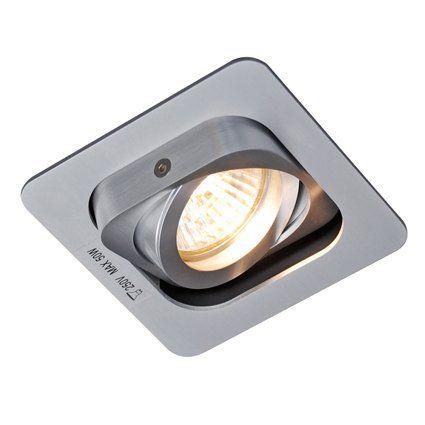 Schön Qazqa Built In Spotlight Random 1 Aluminium