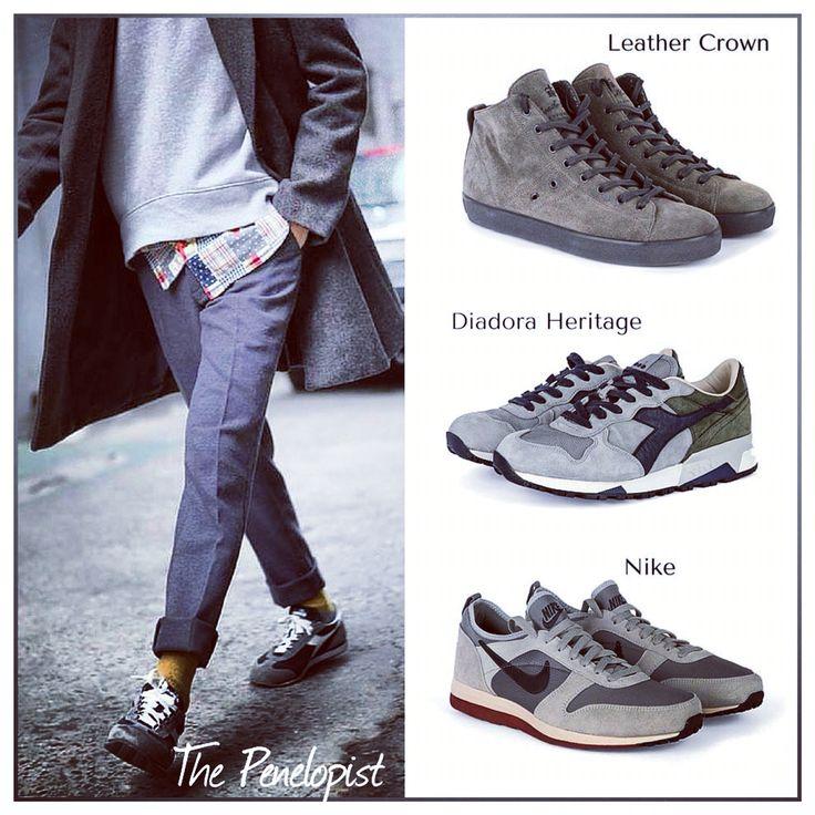 Versatili e capaci di star bene con qualsiasi look, le sneakers occupano un posto speciale nel guardaroba di tutti noi. Non lasciatevi dunque scappare i nuovi arrivi firmati Diadora Heritage, Leather Crown, Nike e tanto altro ancora.   #Sneakers >> http://ow.ly/TC4KE  #Penelope47 #ThePenelopist #menstyle #menswear #Sneakers #sneakerhead #DiadoraHeritage #LeatherCrown #nike #FW15 #Shoponline #style #stylish #pistoia #prato #firenze #EnjoyTheStyle