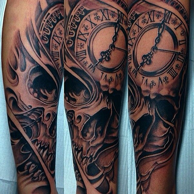 59 best images about clock tattoos on pinterest time tattoos no regrets tattoo and trash. Black Bedroom Furniture Sets. Home Design Ideas