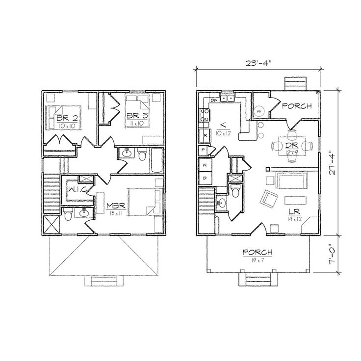 Best 25 House plans images – Floor Plans For Square Homes