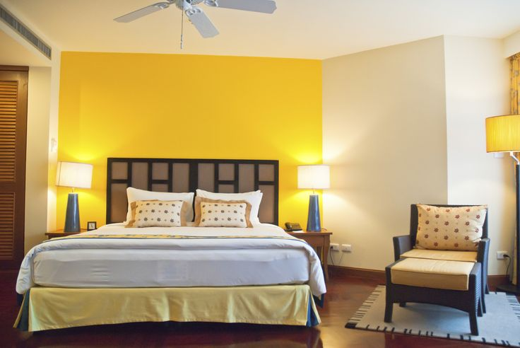 Surprising Yellow Gray Bedroom
