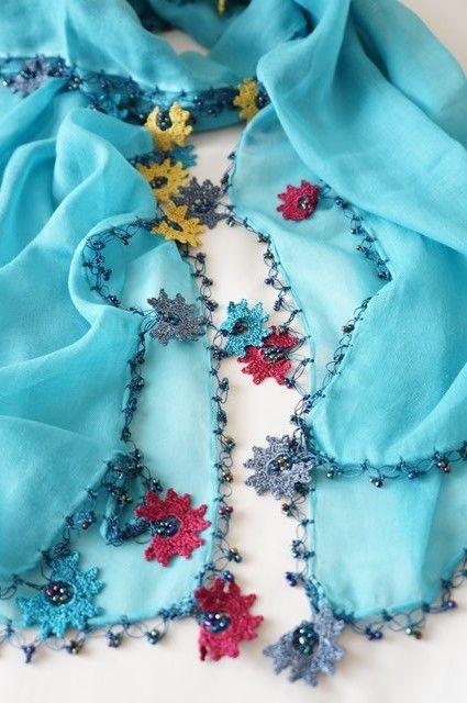 画像2: トゥーオヤの花花ストール